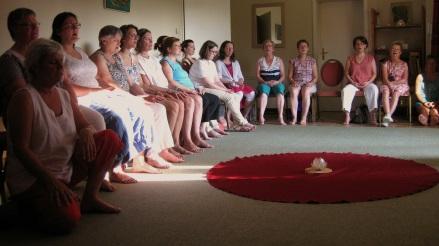 Présentation du Yoga du SON à l'asbl Au sein des femmes