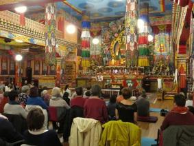 Conférence au Temple tibétain de Huy